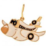Детская-подвеска-самолетик---завод-Золотые-купола---pokrovgold.ru