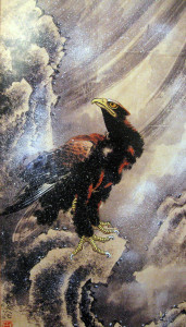 Eagle-in-a-Snowstorm-1848-Katsushika-Hokusai---artdiscovery.info
