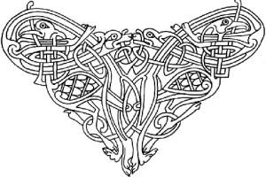 Кельтский орнамент уголок - aquavitae.narod.ru