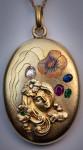 Медальон-в-стиле-Ар-Нуво---romanovrussia.com
