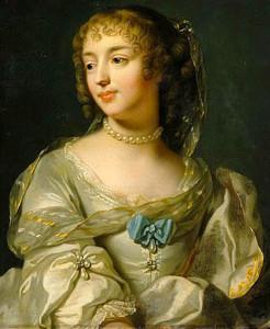 Портрет маркизы Севинье - Marie de Rabutin-Chantals - gogmsite.net