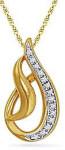 Подвеска из золота с бриллиантами-homeshop18.com