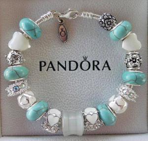 Браслет Pandora - etsy.com