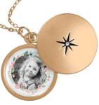 Медальон с портретом ребенка - zazzle.com