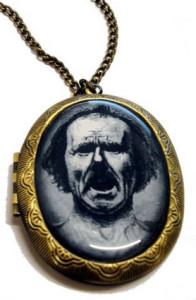 Мужской медальон Кричащий человек - amazon.co.uk
