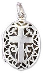 Мужской медальон с крестом - amazon.co.uk