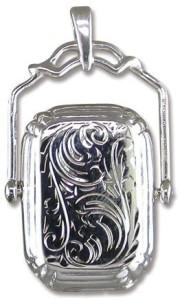 Мужской медальон с орнаментом - amazon.co.uk