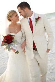 Бутоньерка и свадебный букет в одном стиле - pinterest.com