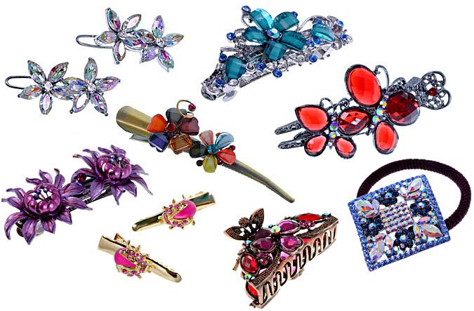 Декоративные заколки разных видов - fraui.ru