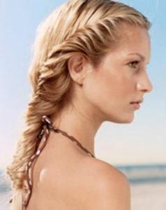 Французская коса - hairstyles123.com