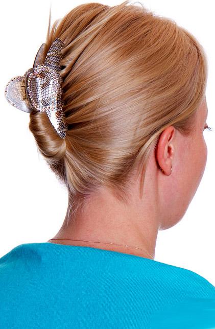 Краб для волос как сделать