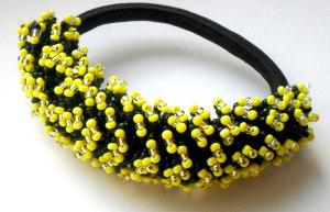 Резинка декорированная бисером - biser.info