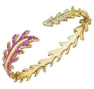 Браслет из золота с драгоценными камнями, Mimi So