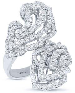Кольцо с бриллиантами, Shy Creation