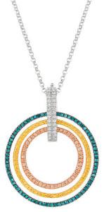 Крупный кулон с бриллиантами, World Trade Jewelers