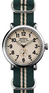 Часы, сталь, Shinola