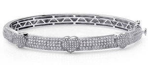 Серебряный браслет с имитацией бриллиантов, Lafonn