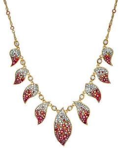 Колье в этническом стиле с бриллиантами и керамикой, Plevé Diamonds