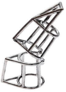 Кольцо с элементами конструктивизма - chrishabanajewelry.com