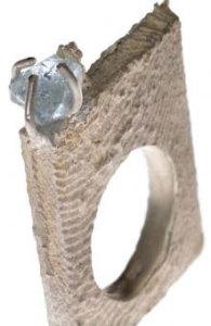 Кольцо в футуристическом стиле - mariannahadass.com