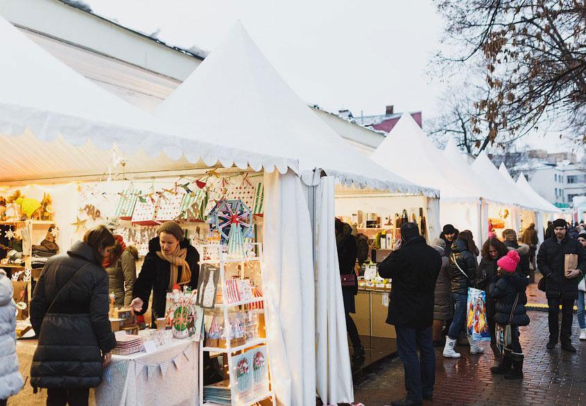 Рождественская ярмарка Seasons - дизайн-маркет, фото организаторов