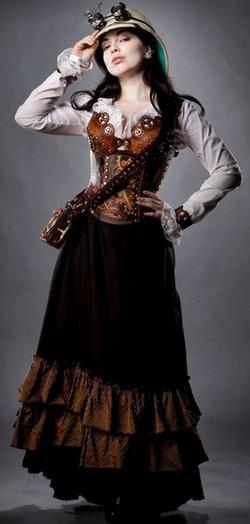 Одежда-в-стиле-стимпанк - фото womanadvice.ru