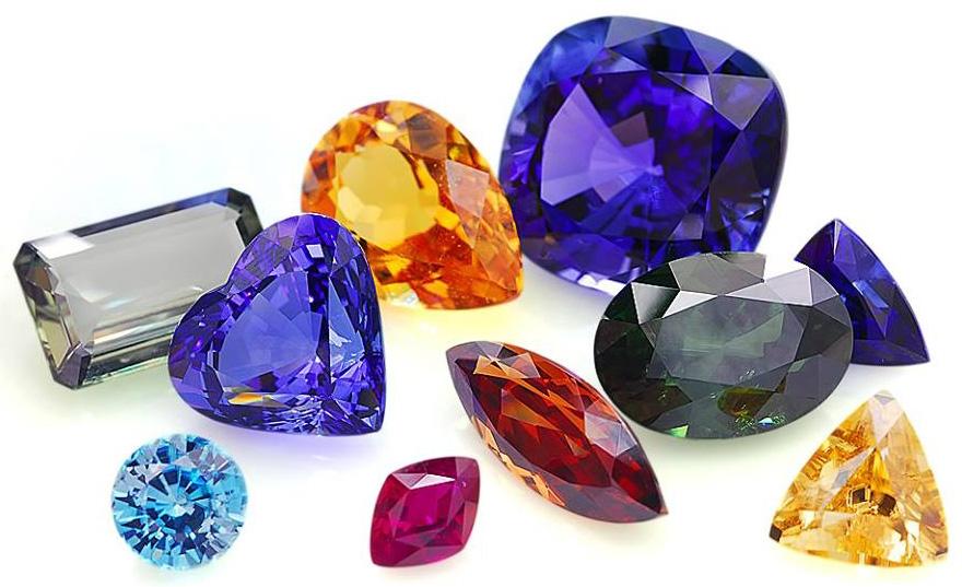 Самоцветы---фото-Multicolour-Gems