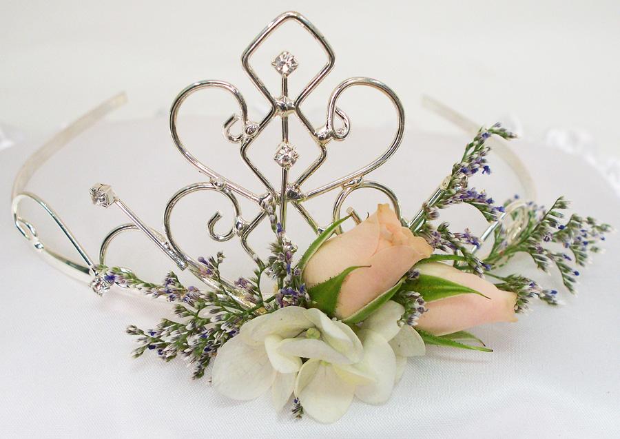 диадема цветочный мотив фото - blog.gillespieflorists.com
