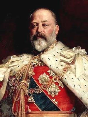 Король Англии Эдуард VII