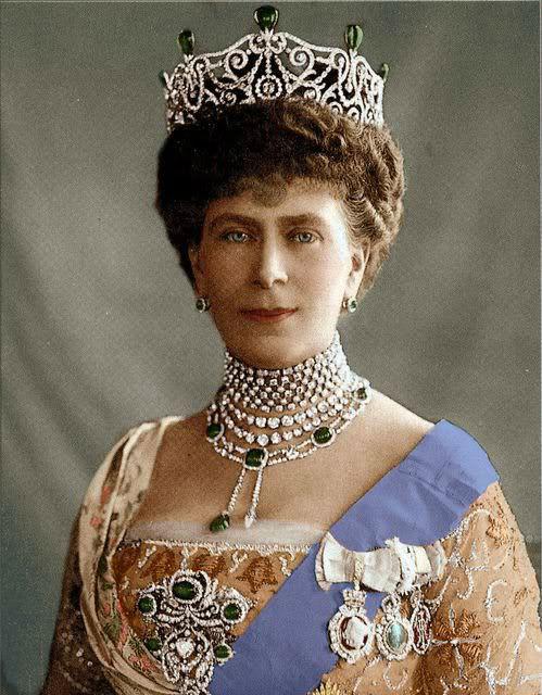 Королева Мария. 1911 год.