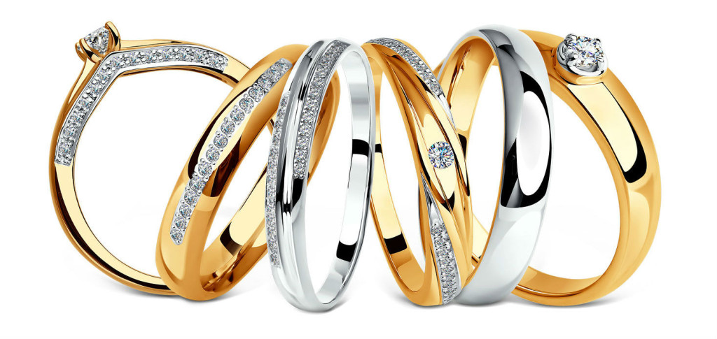 Обручальные кольца бренда sokolov