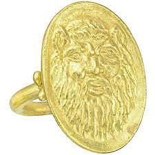 Кольцо с маской льва - фото polyvore.com