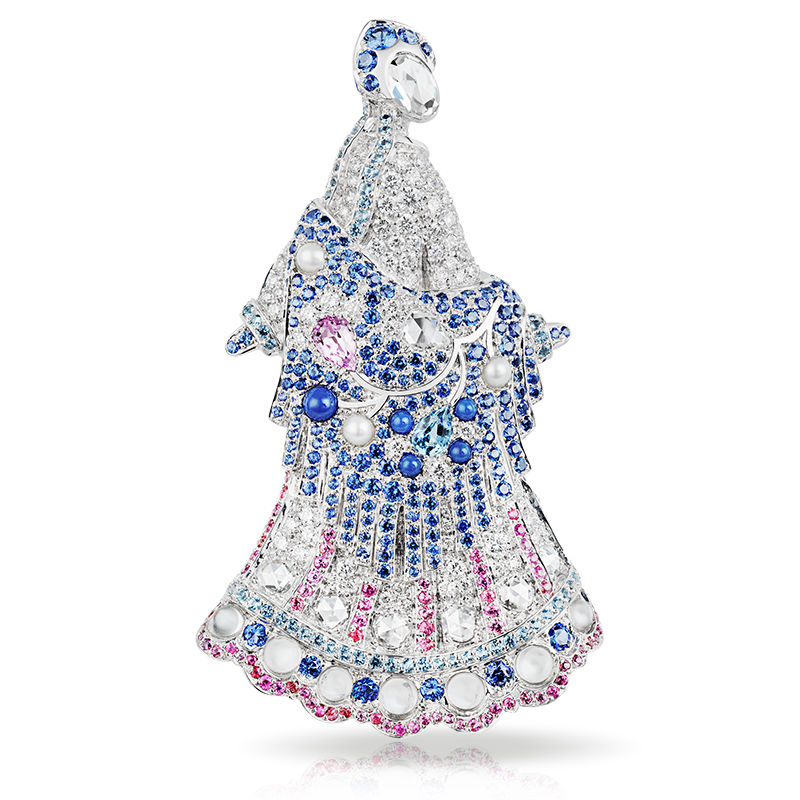 Брошь Faberge