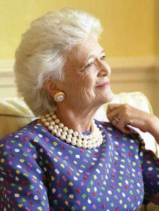 barbara bush---www.purepearls.com