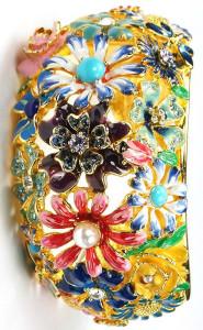 Браслет c эмалью-80-е - фото trifari.com