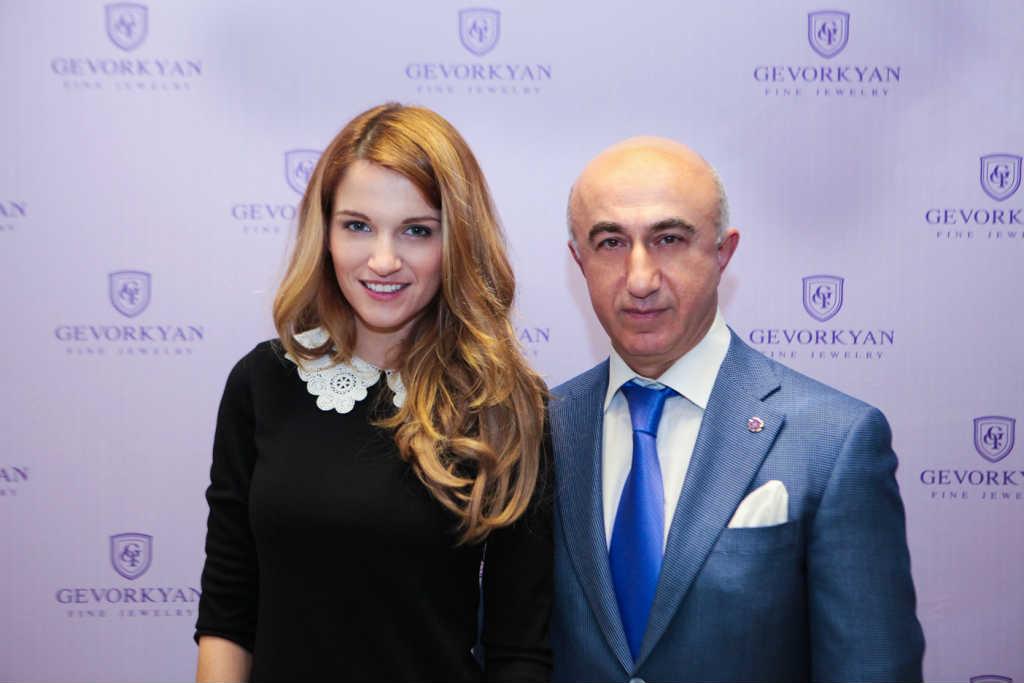 Женя Малахова. Гагик Геворкян