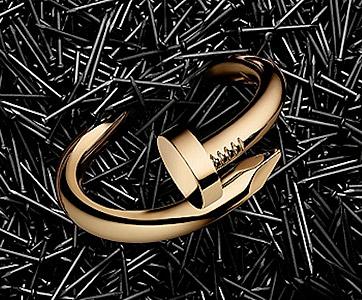 Золотые гвозди Cartier - luxlux.net