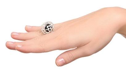 Кольцо Бульбус от Dhara, фото dstones.ru
