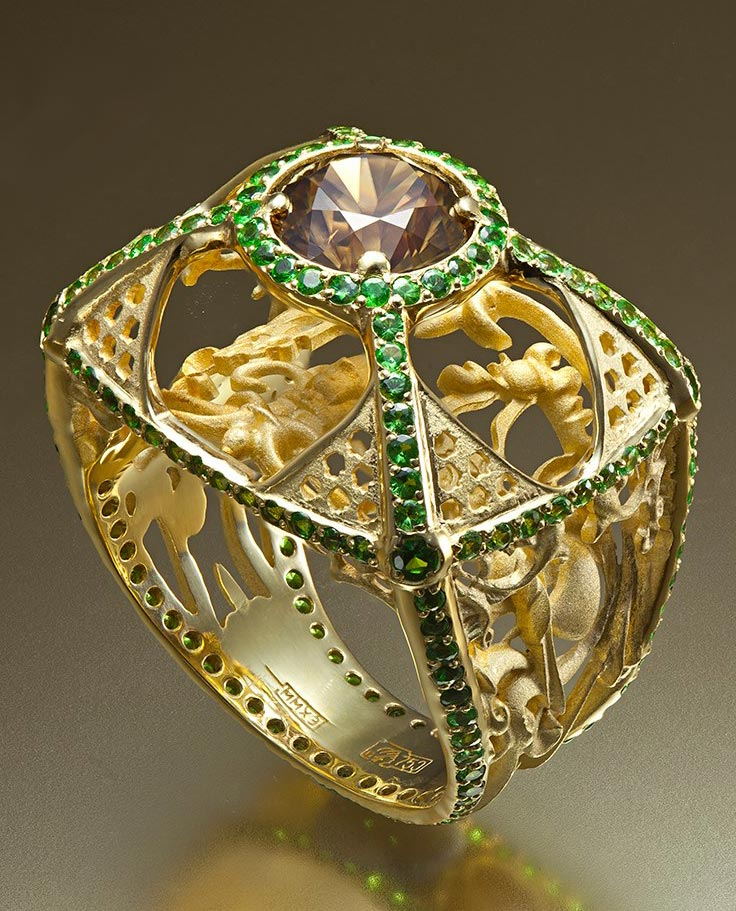 Dhara jewelry Перстень Сказка