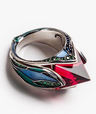Кольцо Life form, Eva Naumova, 30000р. на Ringmart