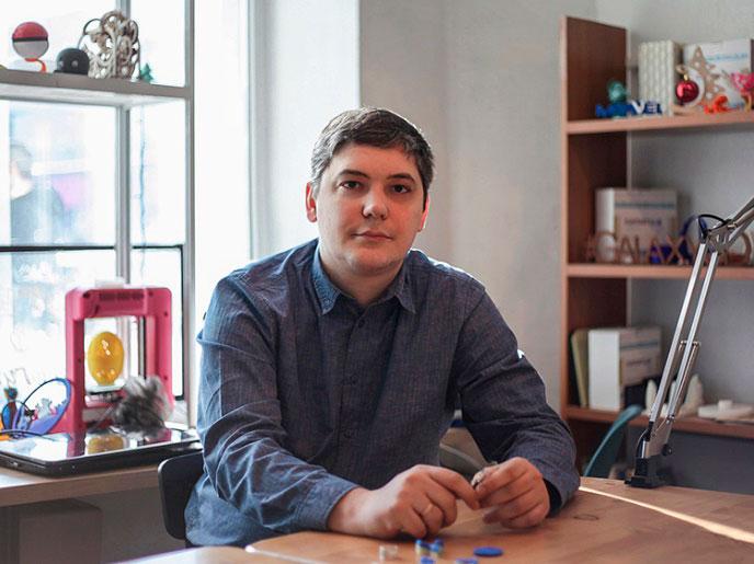 основатель Центра Pro3D Сергей Лютый