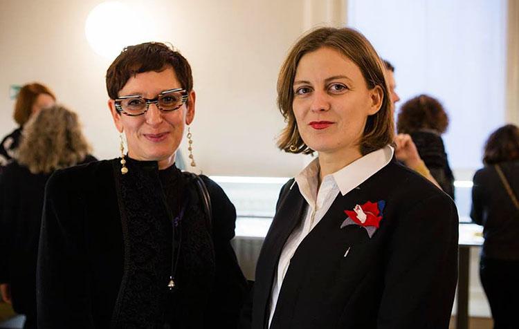 Ольга Чернышова и Donata Mapelli