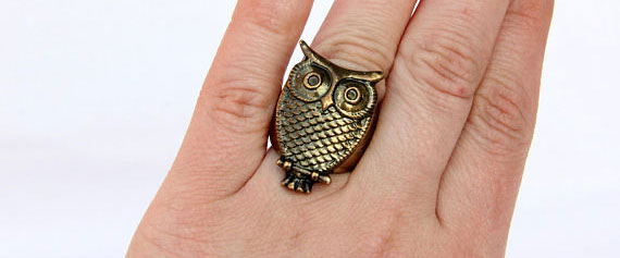 Украшение из бронзы. Фото: Cleopatravintage на etsy.com