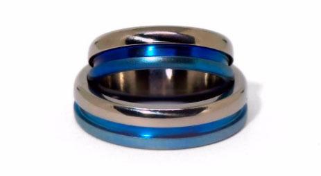 Обручальные кольца из титана от LittleTricks