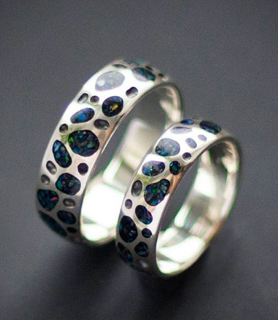 Обручальные кольца от crafty-consy