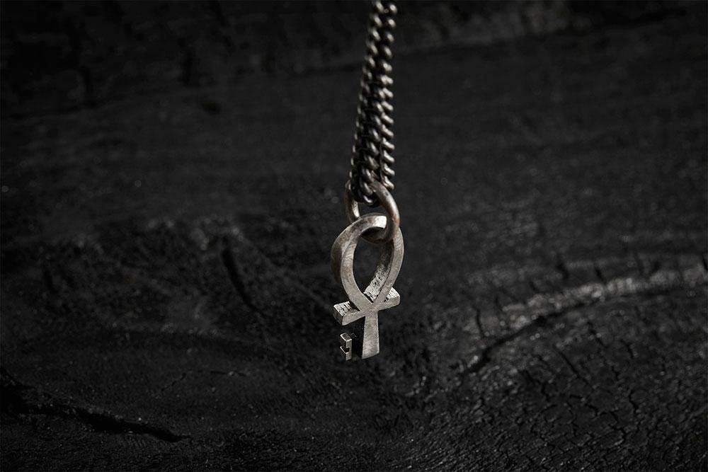 ANKH NECKLACE из коллекции GRIM, автор Марго Дубовик