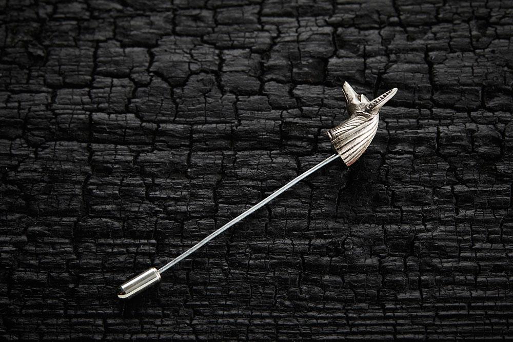 ANUBIS PIN из коллекции GRIM, автор Марго Дубовик